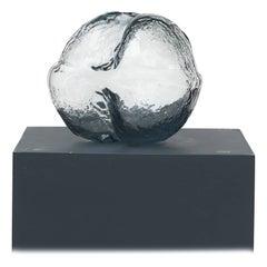 Sculptural Glass Vase by Per Lütken for Holmegaard