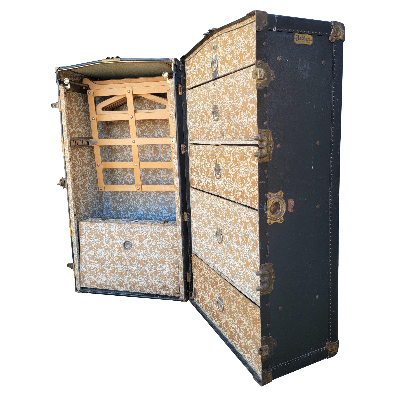 Steamer / Cabin Wardrobe Trunk