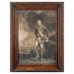 Picture Frame Made of Oak from H.M.S. Victory