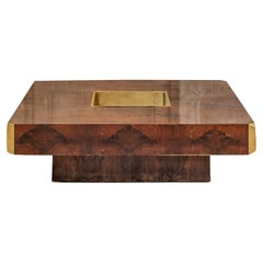 Willy Rizzo Attributed Coffee Table