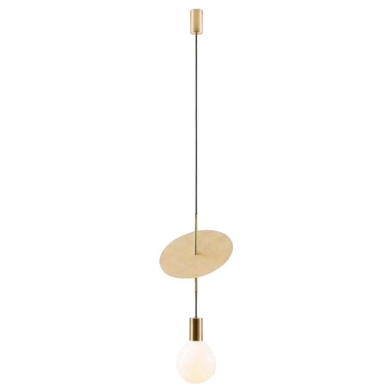 Single Flipside Solid Pendant Light by Volker Haug