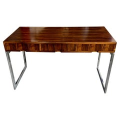 1970's Rosewood and Chrome Desk