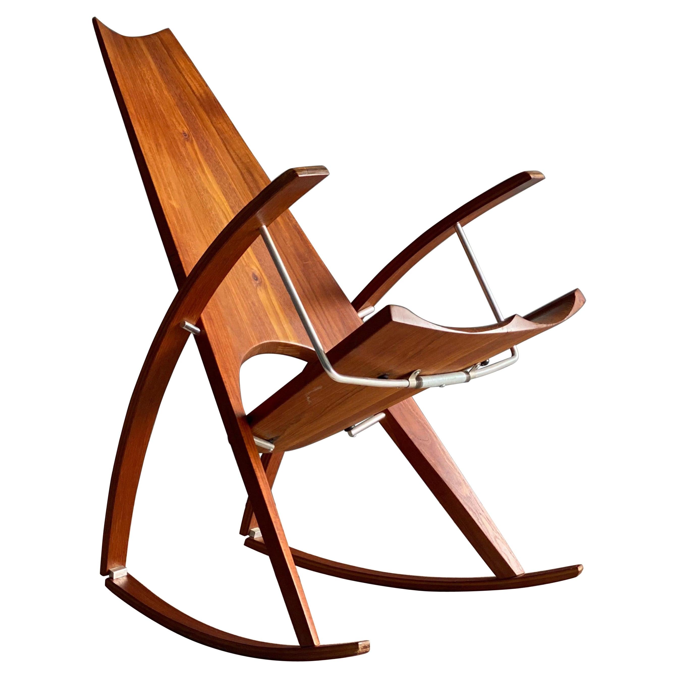 Studio Rocking Chair by Leon Meyer
