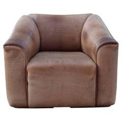 De Sede DS 47 Neck Leather Armchair Brown