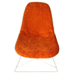 New Dress-Up Covering for Eames Plastic Side Chairs 'Color : Mandarin