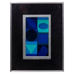 Victor Vasarely, Geometric Composition, 1970s