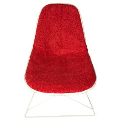 New Dress-Up Covering for Eames Plastic Side Chairs 'Color : Grenadine'