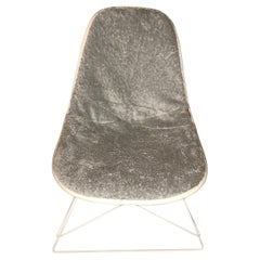 New Dress-Up Covering for Eames Plastic Side Chairs 'Color PLATINUM'