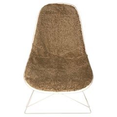 New Dress-Up Covering for Eames Plastic Side Chairs < Color: Taupe>
