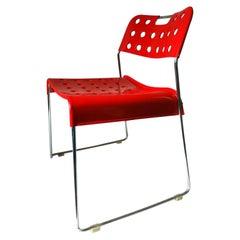 "Chair ""Omk Omstak"" Design Rodney Kinsman for Bieffeplast, 1970s"