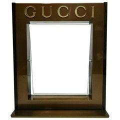 "Table Mirror ""Gucci"" Original Dealer Shop"