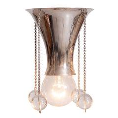 Josef Hoffmann Wiener Werkstaette Jugendstil Ceiling Lamp/Flush Pende, Re Edit.