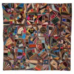 Crazy Quilt, Fulton, MO, USA, Late 19th C.