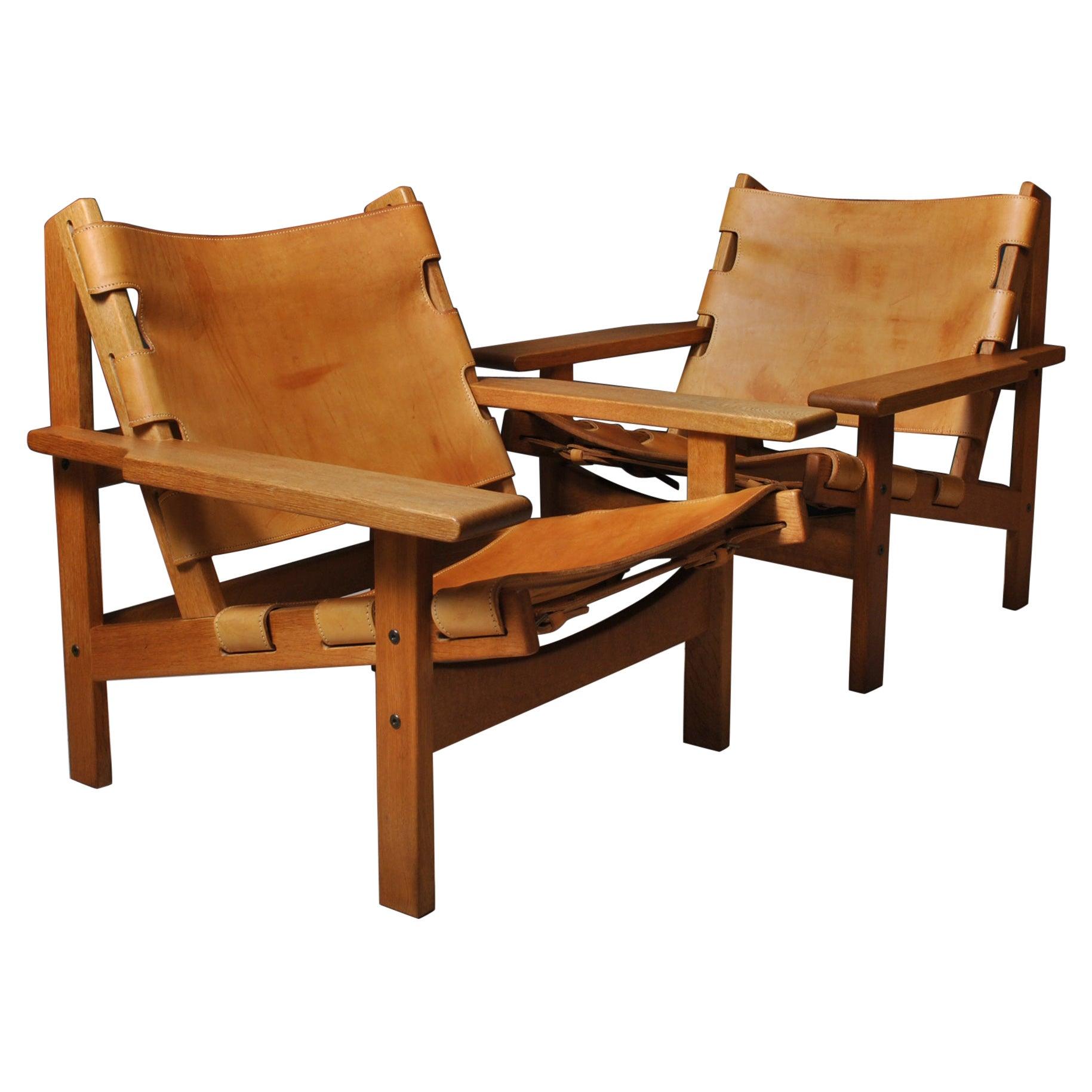 Pair of Kurt Østervig Hunting Chairs