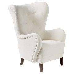 Custom Made Wing Chair