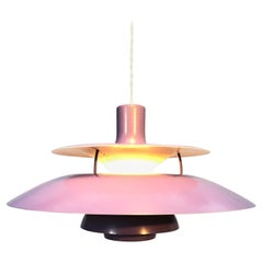 Iconic Rare 1st Edition Poul Henningsen PH 5 Chandelier Pendant Lamp from 1958
