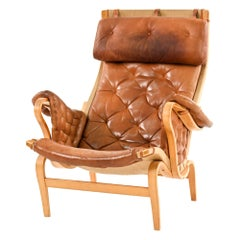 """Bruno Mathsson """"Pernilla"""" Lounge Chair"""