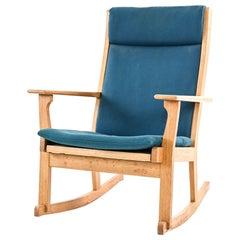 Hans Wegner Danish Mid-Century Rocking Chair