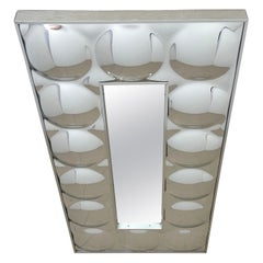 1970s Rectangular 'Bubble' Mirror, by Turner
