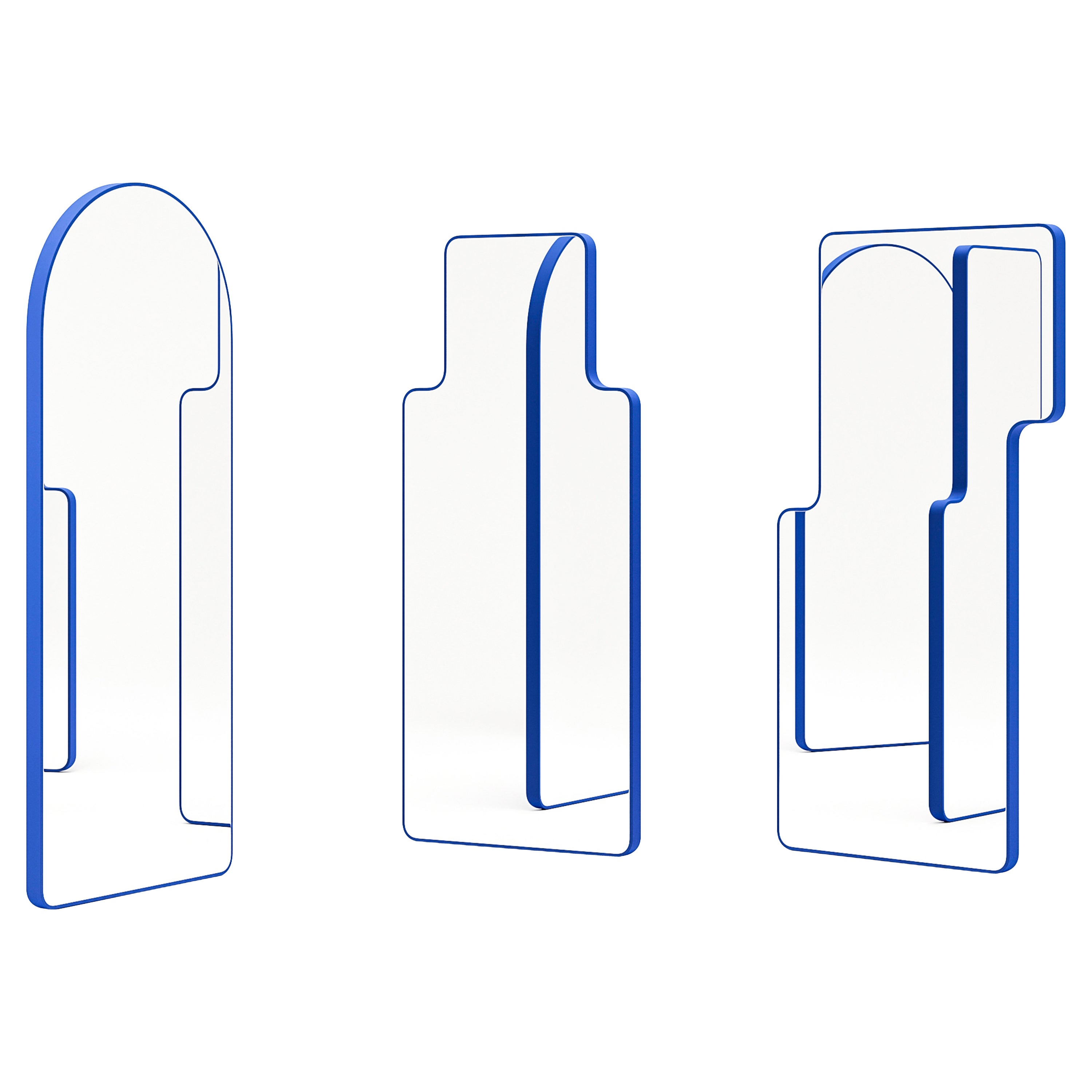 """Collection of 3 """"Loveself"""" Floor Mirrors by Oitoproducts"""