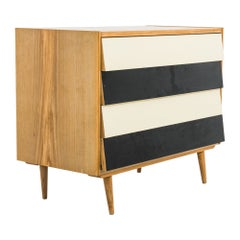 1950s Czech Wooden Chest of Drawers