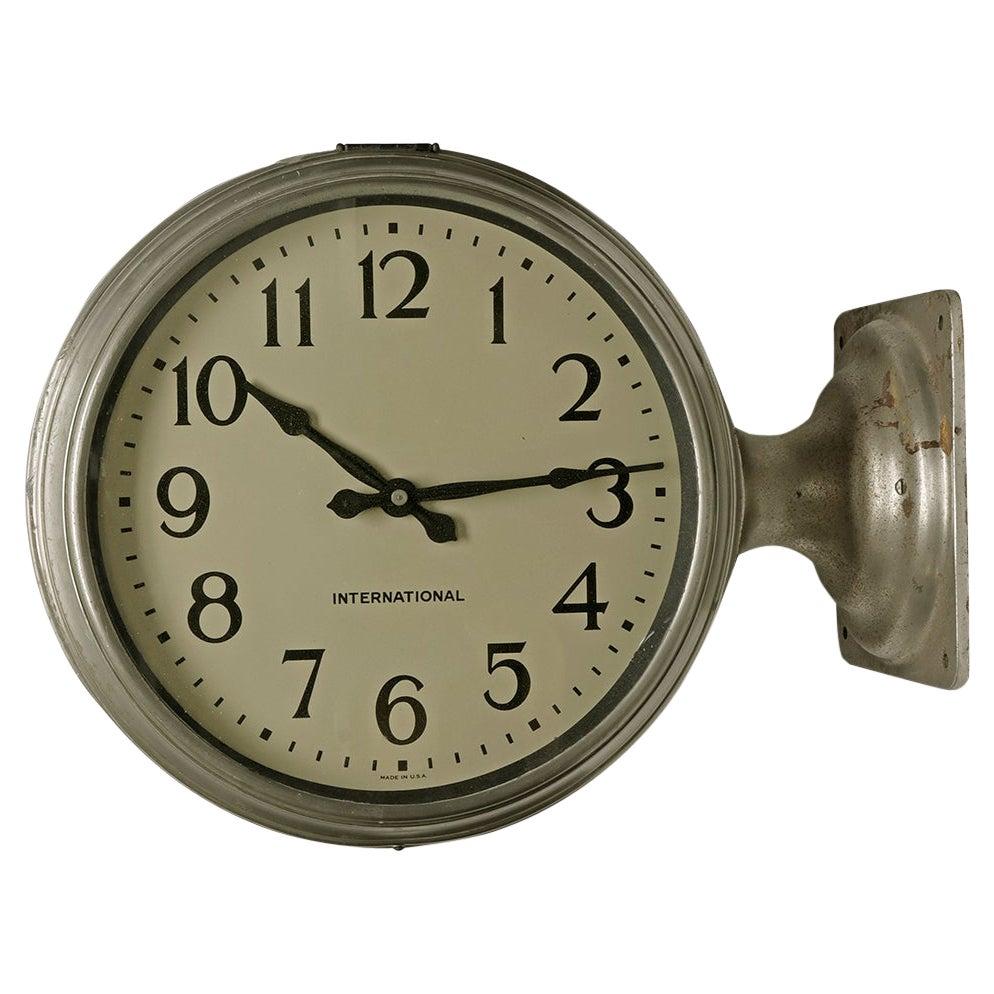 International Rail Station Clock