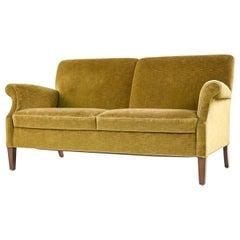 Frits Henningsen Style 2-Seater Sofa