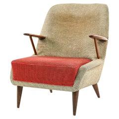 Danish Mid-Century Hans Olsen Style Easy Chair