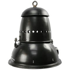 Black Enamel Vintage Industrial Pedant Lights