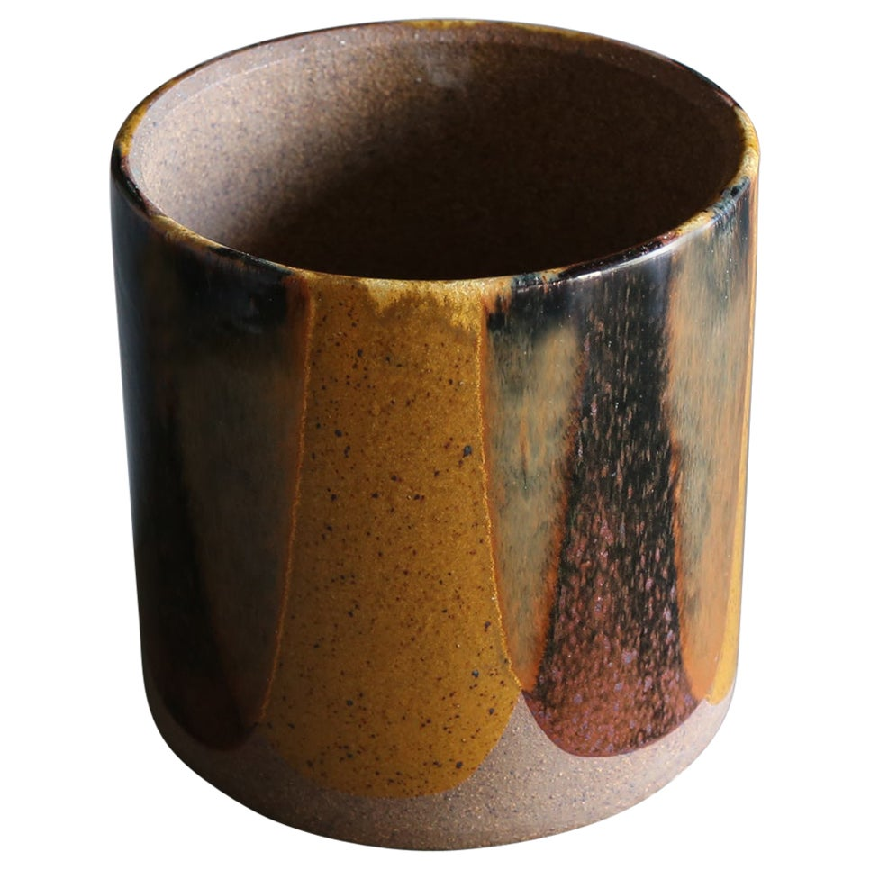 "David Cressey ""Flame Glaze"" Planter for Architectural Pottery, circa 1970"