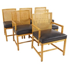 Michael Taylor for Baker New World Collection Mid Century Dining Chairs, Set of
