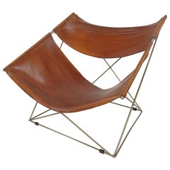 Mid Century F675 Butterfly Chair by Pierre Paulin for Artifort, 1960s