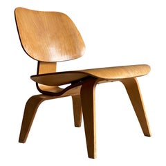 Vintage Eames LCW 'lounge chair wood' for Herman Miller
