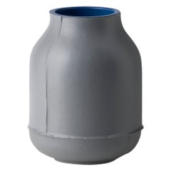 Vaso Barrel Small Grigio by Benjamin Hubert