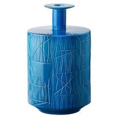 Vaso A Blu Unicolore by Bethan Laura Wood