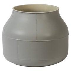 Vaso Tub Grigio e Crema by Benjamin Hubert