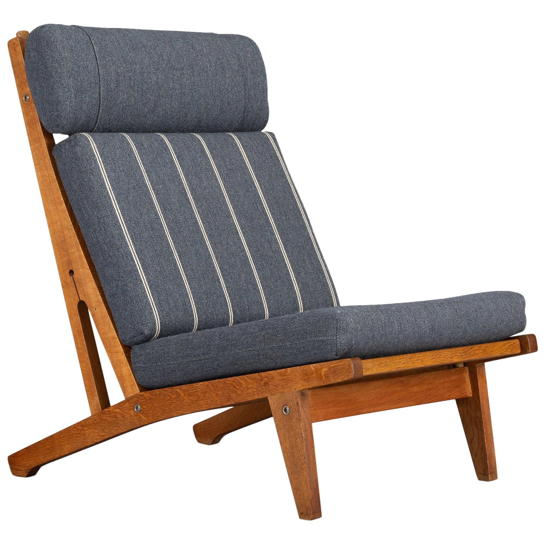 No. GE375 Gentlemen Lounge Chair by Hans J. Wegner for GETAMA, 1960s