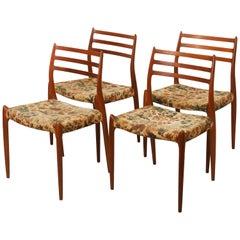 Teak Dining Chair by Niels Otto Møller Model 78