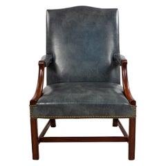 English Georgian Mahogany Arm Chair