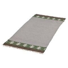 Swedish Rölakan Flat-Weave Rug