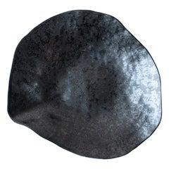 Indulge Nº6 / Graphite Grey / Large Plate, Handmade Porcelain Tableware