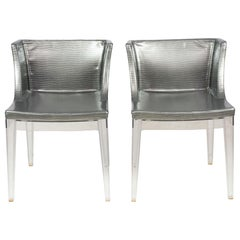 Set of 10 Contemporary Kartell Mademoiselle Dining Chairs