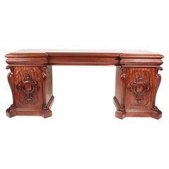 Magnificent Quality Antique William IV Carved Mahogany Sideboard