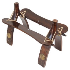 Vintage Egyptian Camel Saddle Stool
