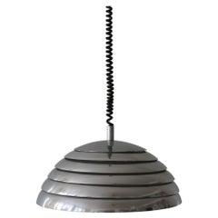 Large Mid-Century Modern Pendant Lamp by Vereinigte Werkstätten München, 1960s