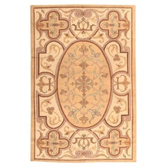 Vintage Art Deco French Rug. Size: 6 ft 4 in x 9 ft 8 in (1.93 m x 2.95 m)