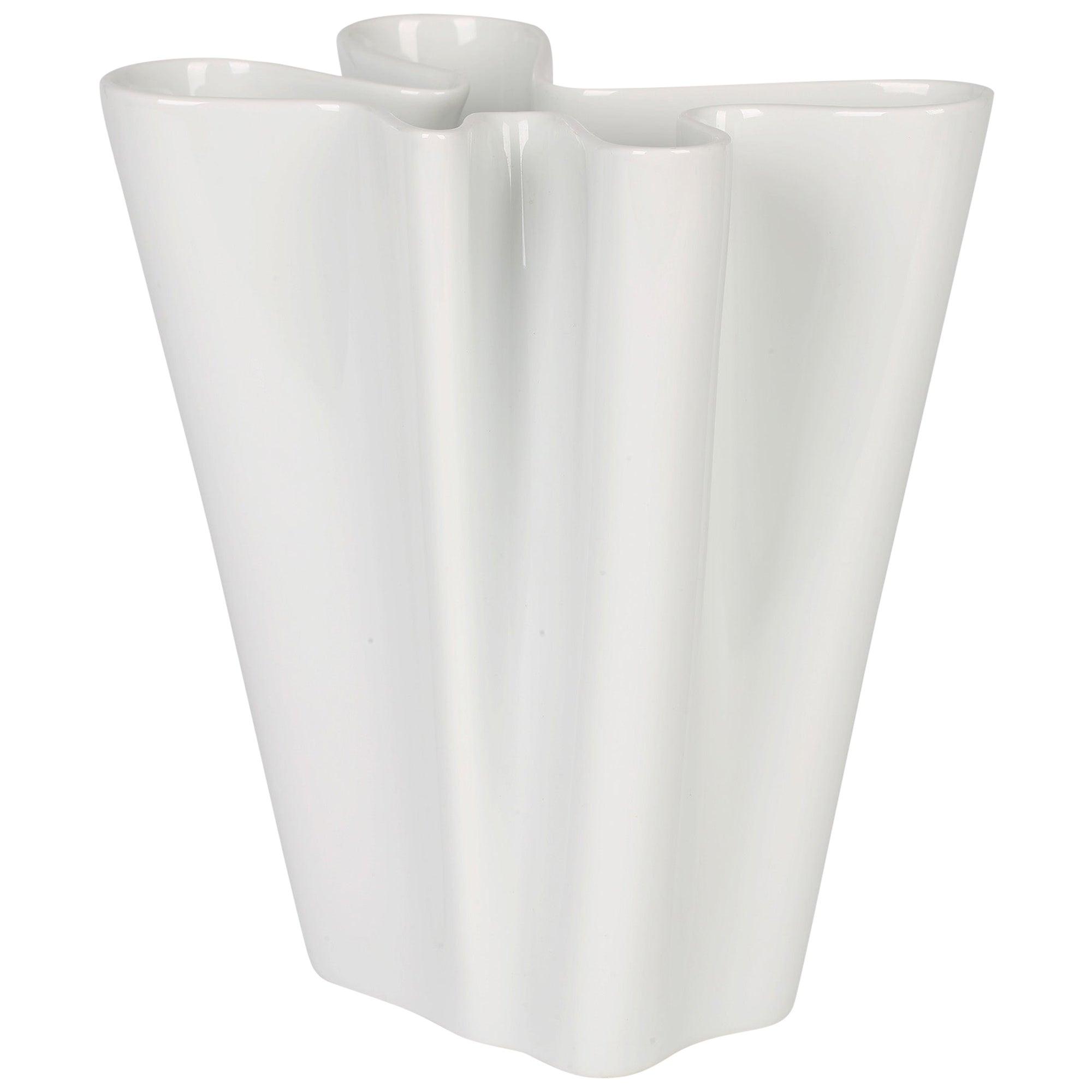Rosenthal German Studio-Line Porcelain White Flux Vase
