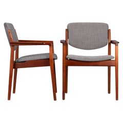 Armchair Model 196 by Finn Juhl for France and Son, 1960s, Set of 2