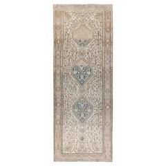 Antique Karabagh Runner Rug  6'6 x 17'4