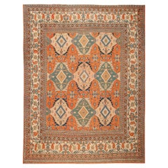 Antique Khorassan Persian Rugs. Size: 10 ft x 13 ft 7 in (3.05 m x 4.14 m)